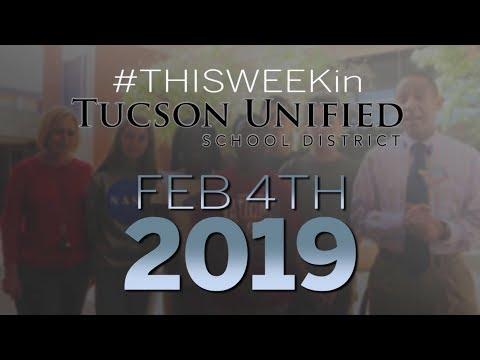 TUSD1 - Video Newsletter 2.4.2019 Utterback Middle School