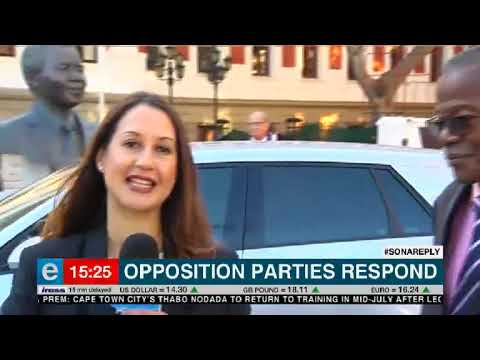 Opposition parties respond