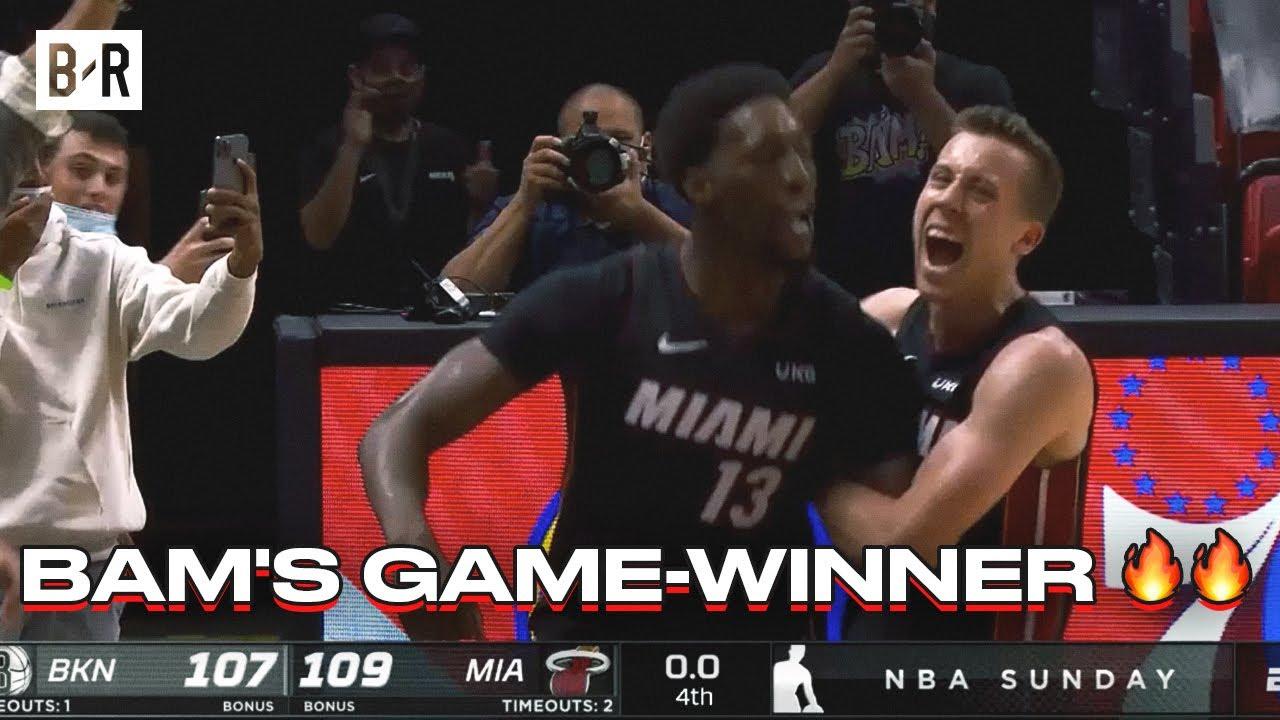 Download Bam Adebayo Hits Game-Winner vs. The Nets
