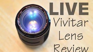 live vivitar series 1 70 210mm f 2 8 4 macro lens review