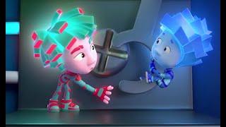 Фиксики — ТОП 10 популярных серий (Посудомоечная машина, Пианино, Лифт, Крючок, Театр теней…)