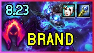 NEW PRESEASON 8.23 DARK HARVEST BRAND SUPPORT - League of Legends