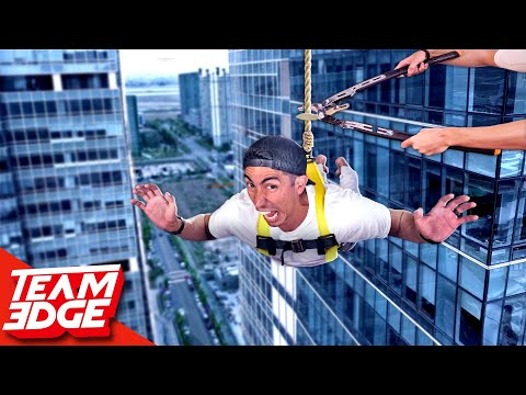 Dont Plummet to the Ground! | Rope Cut Challenge!