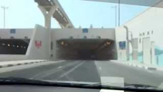 Sea Underpass near Atlantis Hotel, Palm Island, Dubai.
