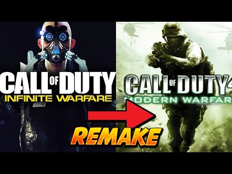 """COD 4 REMASTERED """"Call of Duty INFINITE WARFARE"""" LEGACY EDITION - COD IW POSTER & RELEASE DATE"""