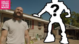 Man Builds 24ft Robot in Driveway - COOLEST THING I'VE EVER MADE EP 18
