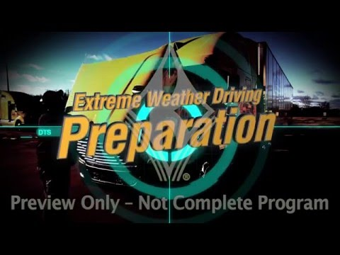 Extreme Weather Driving: Driver Training Series