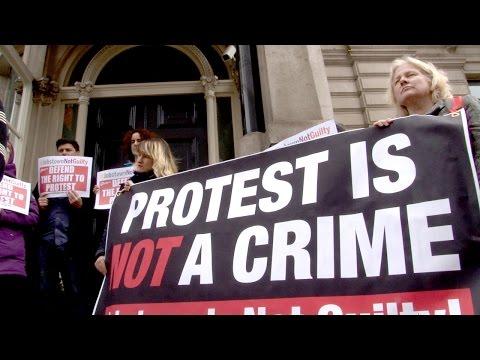 jobstown protest 2  - 15:21-2017 / 4 / 25