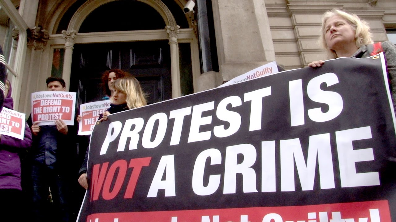 IRLANDA Jobstown: vittoria del diritto di protesta