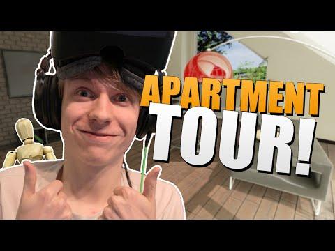 Living Vision: Oculus Rift DK2 - APARTMENT TOUR! (architecture Demo)