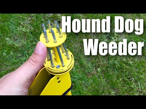 Hound Dog HDP34 Weed Hound Elite Stand Up Weeder Weeding Tool By The Ames Companies