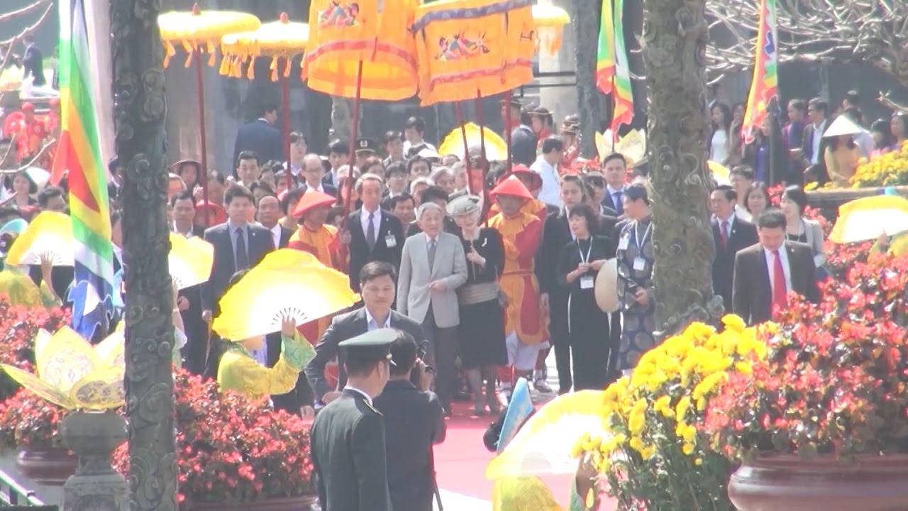 Tin Tức 24h: Nhà vua và Hoàng hậu Nhật Bản thăm Cố đô Huế