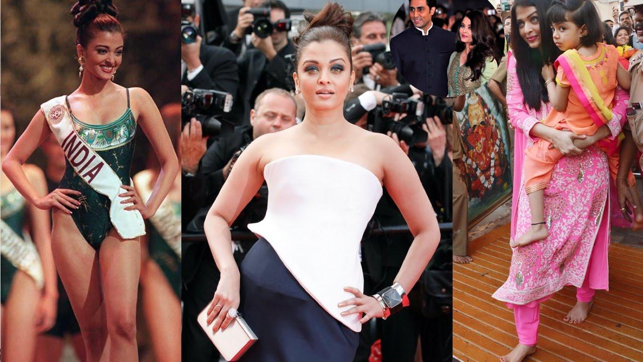 Actress Aishwarya Rai - Biography   Family Photos with ...