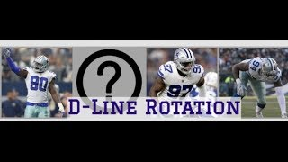 The Dallas Cowboys New D-Line Rotations || How Randy Gregory Effects The Line Up