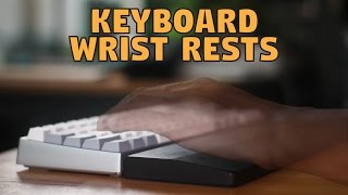 Mechanical Keyboard Wrist Rests : Glorious PC Gaming Race - Unboxing & Review