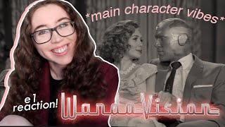 wanda maximoff is CHARMING as always :') | wandavision episode 1 reaction & commentary! ❤︎