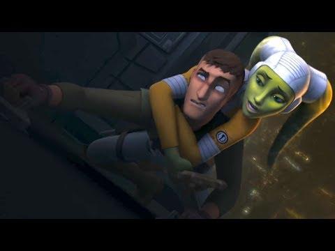 [Kanan frees Hera] Star Wars Rebels Season 4 Episode 10 ...  [Kanan frees He...