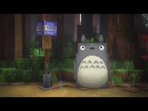 My Neighbor Totoro In Minecraft