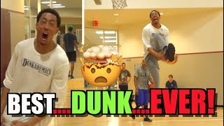 The DOUBLE Eastbay! Best Dunk of ALL TIME!!?? By Jonathan Clark! Video