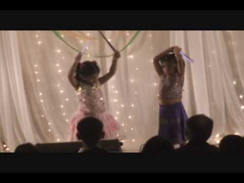 Diya and Vedika Performing on