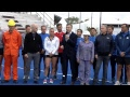 El presidente Mauricio Macri recorre el Parque Olímpico