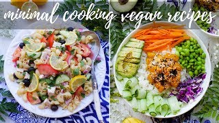 VEGAN RECIPES WITH MINIMAL COOKING FOR HOT WEATHER | PLANTIFULLY BASED