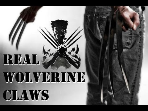 Make it Real: The Wolverine's Claws!