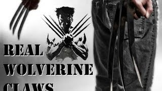 Make it Real: The Wolverine's Claws!(CONTEST HAS CLOSED! WINNER TO BE ANNOUNCED SOON! Buy your own replica wolverine claws here: http://fave.co/1pXYbnR For more projects, check ..., 2013-05-22T23:28:15.000Z)