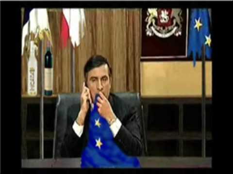 быть, саакашвили ест галстук гифка человек обманувший многих