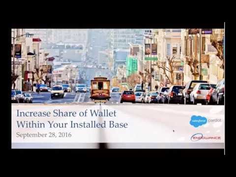 [Webinar] Increase Share Of Wallet Within Your Installed Base