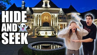 HIDE AND SEEK IN MASSIVE MANSION! **BOYFRIEND VS GIRLFRIEND**
