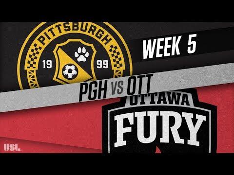 Pittsburgh Riverhounds vs Ottawa Fury FC: April 14, 2018