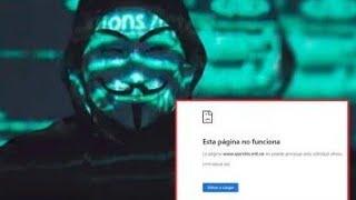 Anonymous hackeo a la página del Ejército Nacional de Colombia