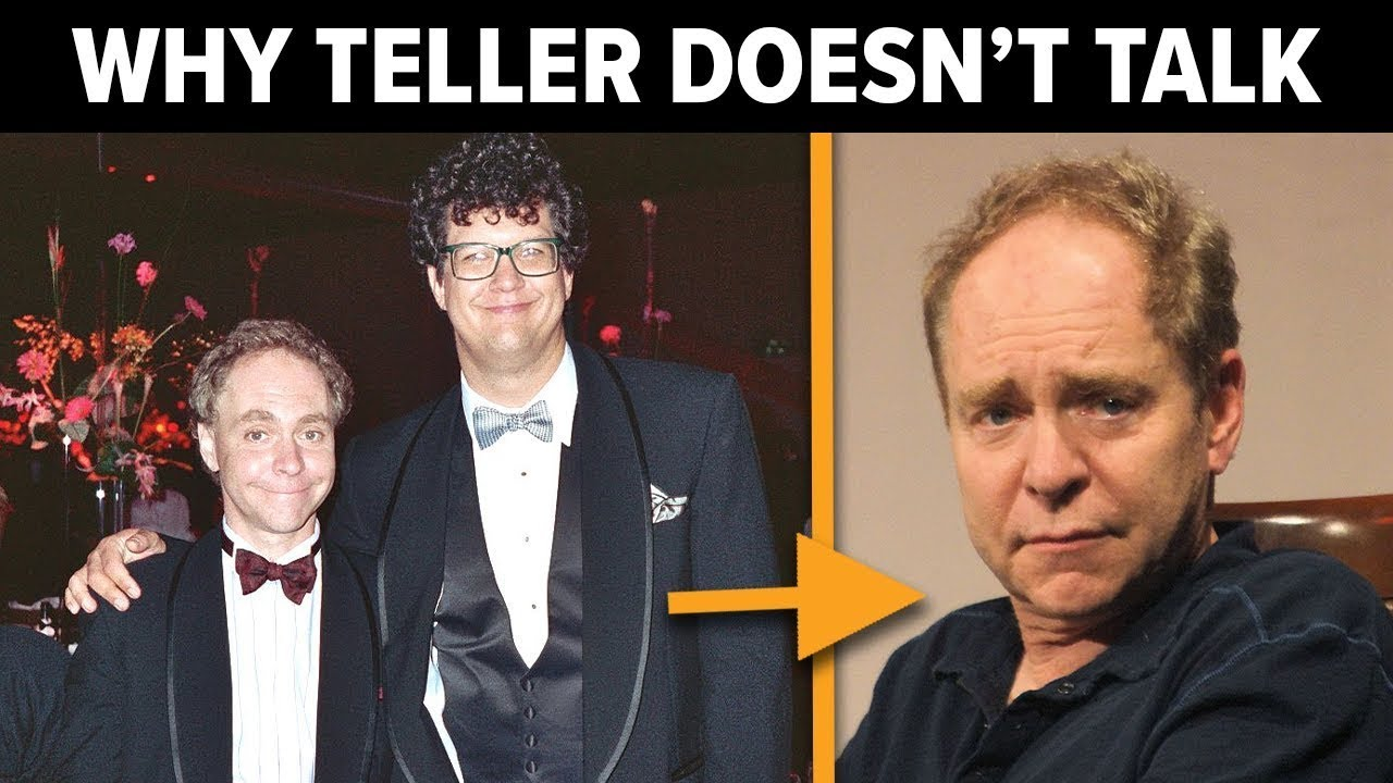 Download Penn and Teller Are Amazing Magicians, but There's a Sad Reason Why You Never Hear Teller Speak