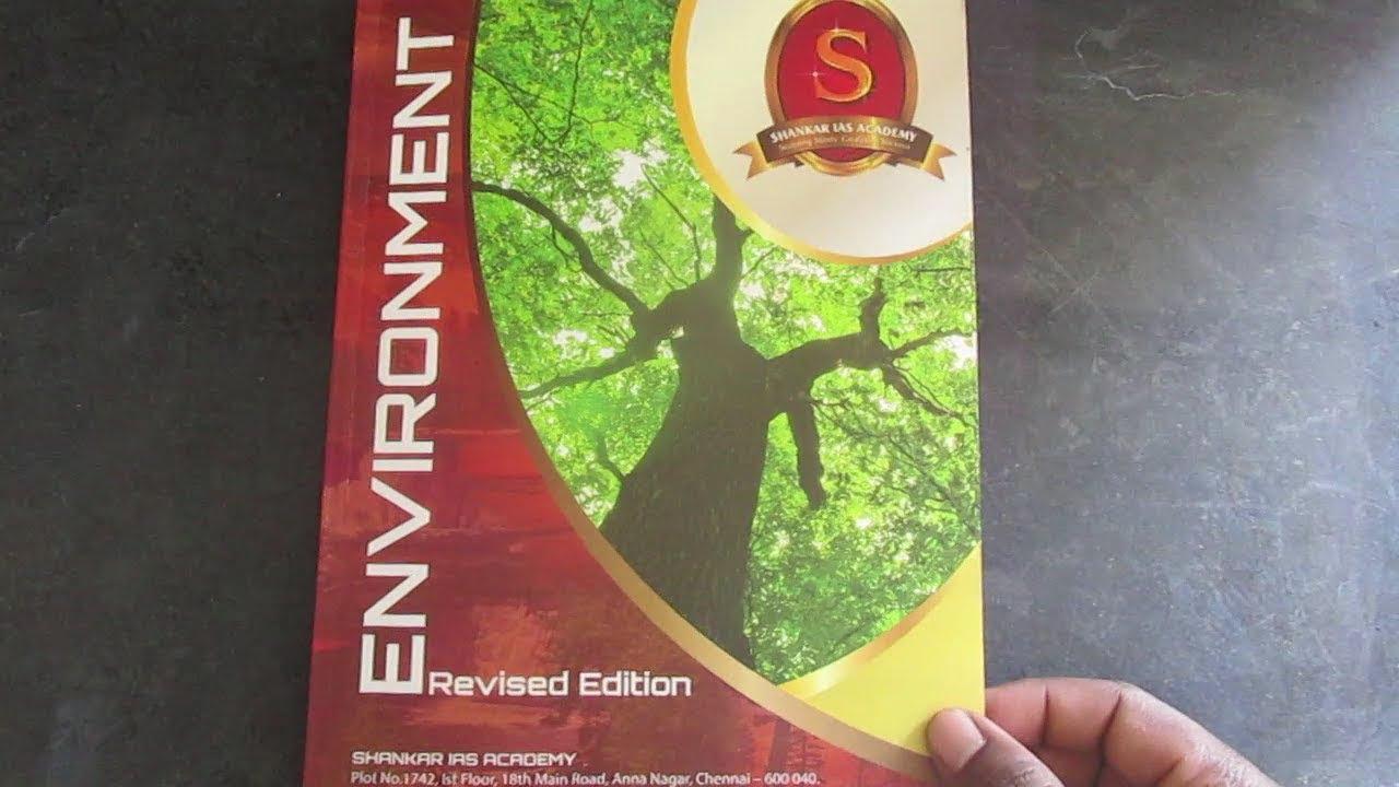 Shankar Ias Environment Printed Notes Pdf