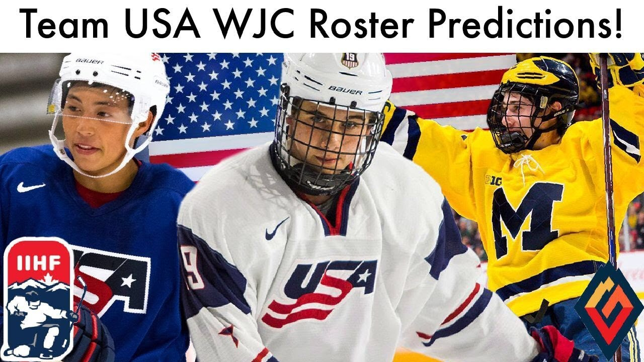 Team Usa Wjc Roster Predictions 2019 Iihf Hockey World Junior Projections Picks
