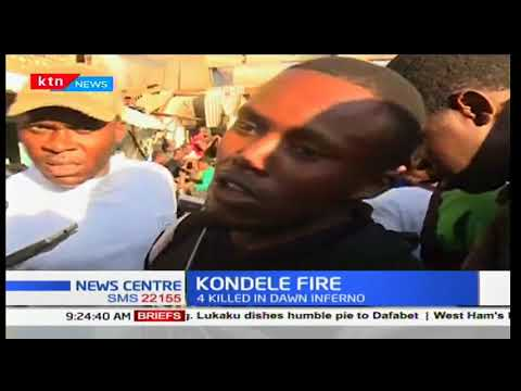 Kisumu residents blame fire rescue team for the deaths at Kondele Guest House