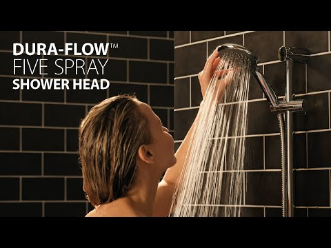 Triton Shower Heads | Dura-Flow Five Spray Patterns