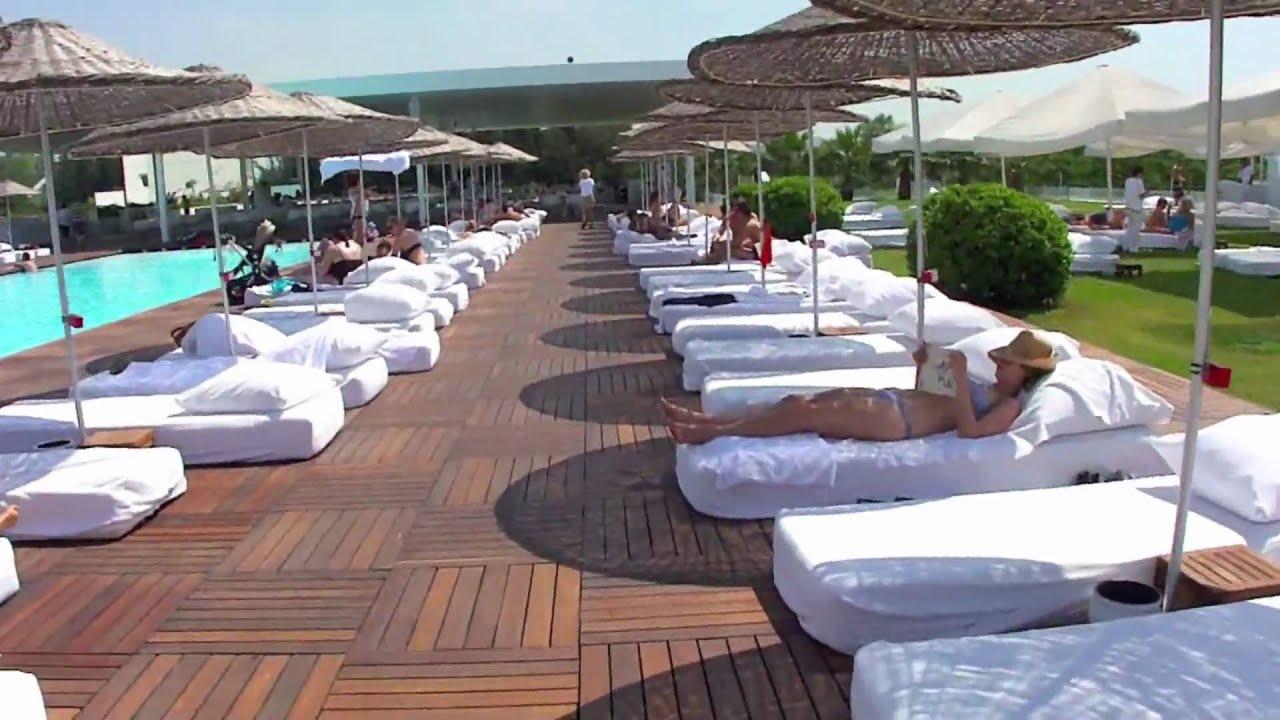 hillside su hotel to the beach antalya turkey youtube