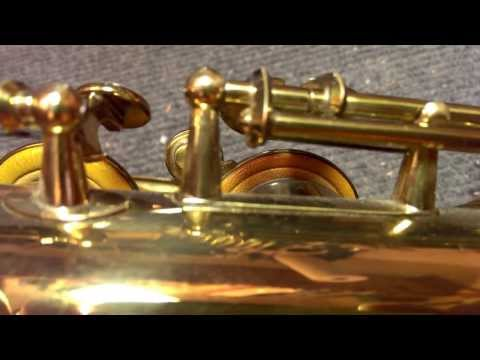 Saxophone Repair Topic: Finish: Original Lacquer Overspray on Vintage Selmers