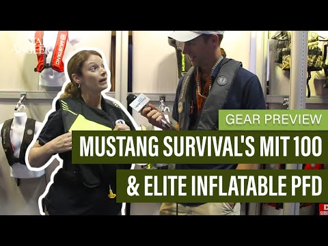 Mustang Survival's MIT 100 & Elite Inflatable PFD | Lightweight PFDs | Gear Preview