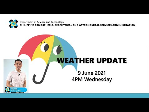 Public Weather Forecast Issued At 4:00 PM June 9, 2021