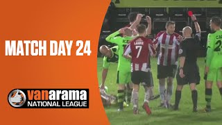 Vanarama National League Highlights Show: Match Day 24 | BT Sport