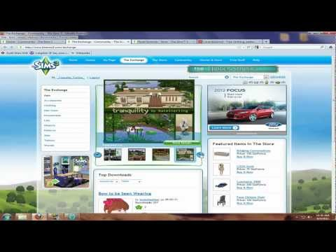 Download/Install Sims 3 Custom Content - sim3pack & package Files