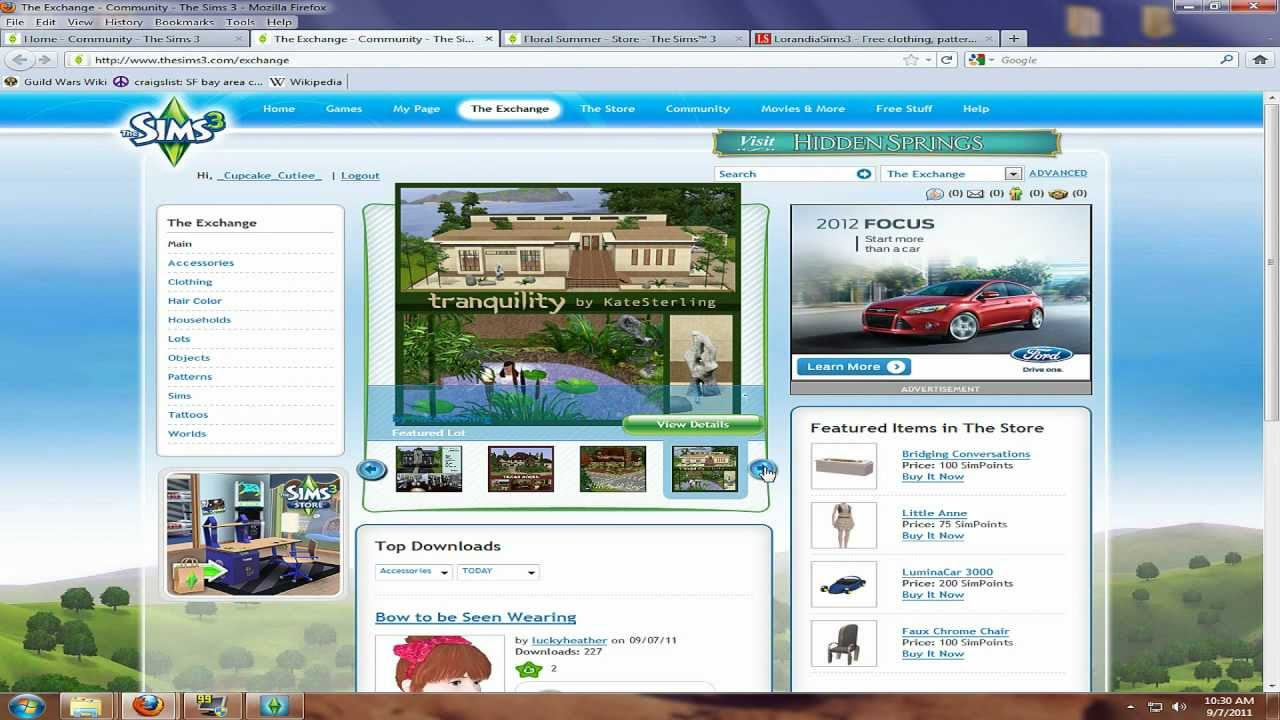 how to get custom content the sims 3