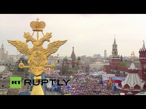 LIVE: Trade unions rally on International Labour Day in Moscow