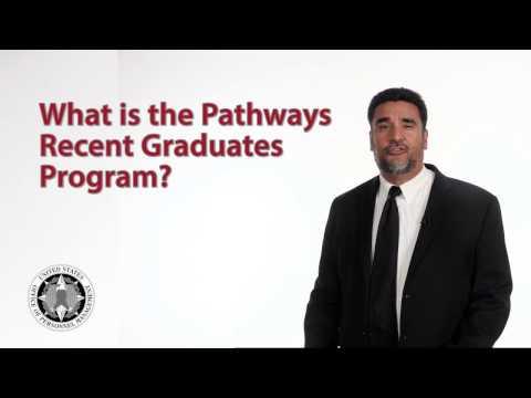 What is the Pathways Recent Graduates Program?