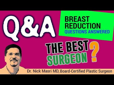 Who is the Best Breast Reduction Surgeon? (ANSWERED) 🚩