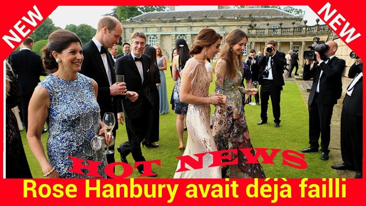 Rose Hanbury avait déjà failli voler la vedette à Kate Middleton le jour de son mariage ! - YouTube