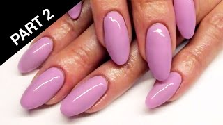 Odnowa / uzupełnianie hybrydy na żelu | Refill / Infill of shellac on gel nails tutorial